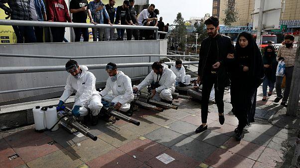 İran'da koronavirüs nedeniyle can kaybı 611'e yükseldi, vaka sayısı 12 bin 720'yi aştı
