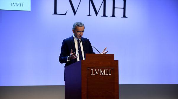 LVMH Grubu Tepe Yöneticisi Bernard Arnault