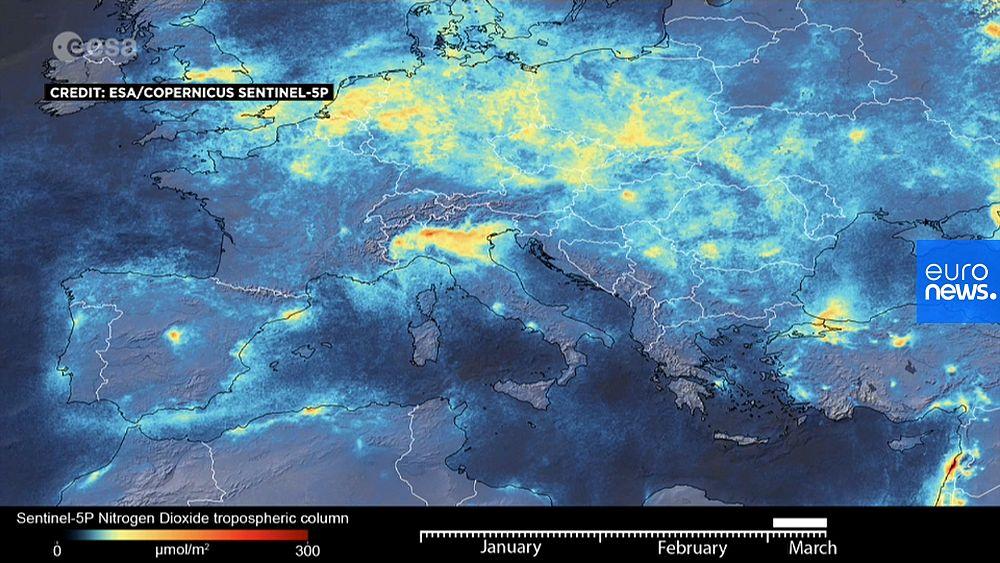 Coronavirus: Satellite data shows Italy's pollution plummet amid COVID-19 lockdown