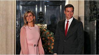 إصابة زوجة رئيس الوزراء الإسباني بيدرو سانشيز بفيروس كورونا الجديد