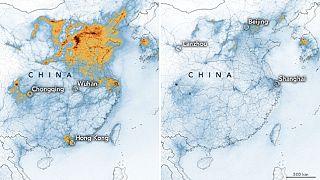 Çin'de koronavirüsten dolayı hava kirliliği azalınca binlerce erken ölüm engellendi