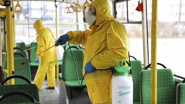 Ukraine Virus Outbreak