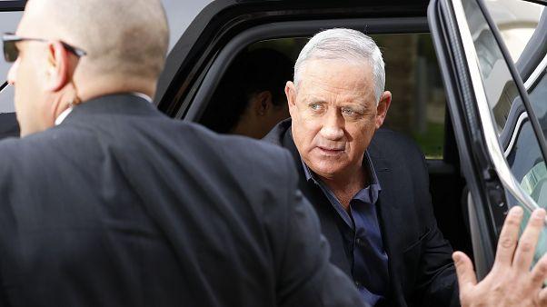 بيني غانتس الجنرال الإسرائيلي السابق والمكلف بتشكيل حكومة إسرائيلية جديدة. 09/03/2020