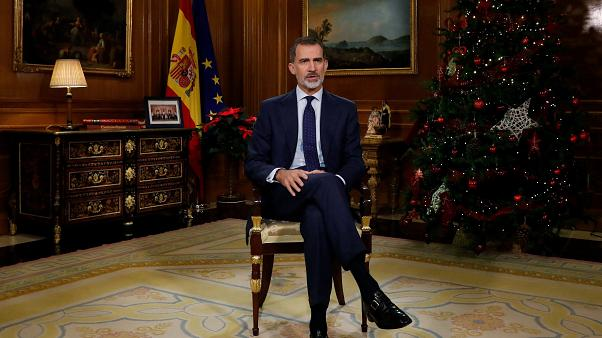 Spain King Christmas Speech