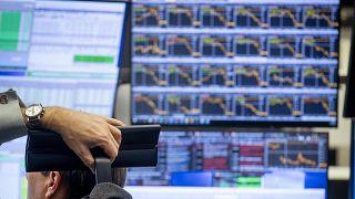 APTOPIX Germany Virus Outbreak Stock Market