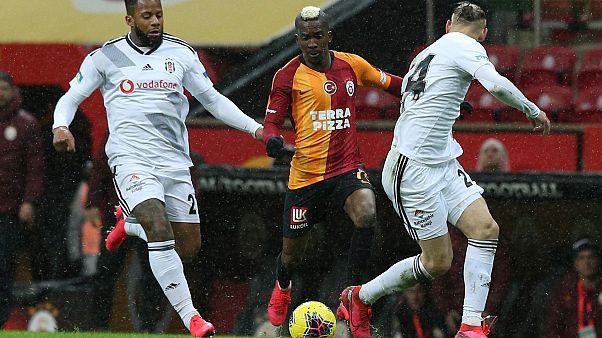 Süper Lig'in 26. haftasındaki derbide Galatasaray, Beşiktaş ile Türk Telekom Stadı'nda karşılaştı.