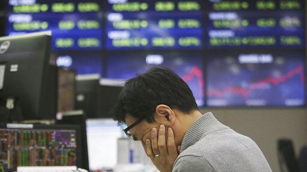 A koronavírus-járvány lehúzza a pénzpiacokat is