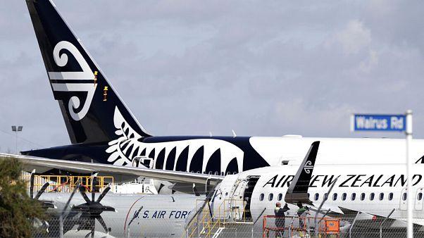 Virus Outbreak Air New Zealand