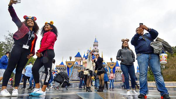 Virus Outbreak Disneyland