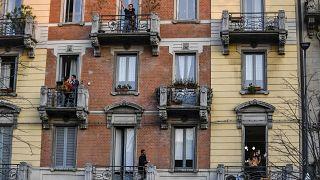 """""""Балконная"""" солидарность в Европе"""