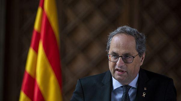 """""""Ungehorsam"""": Kataloniens Regierungschef Torra muss gehen"""