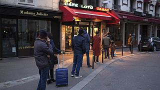 Social distancing in full flow in France