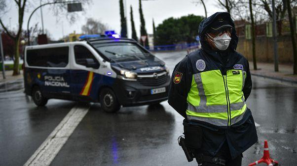 Spain Virus Outbreak