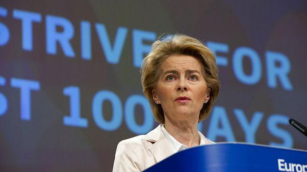 Von der Leyen propõe fechar UE durante 30 dias