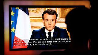 Allocution du président français, Emmanuel Macron, le 16 mars 2020.