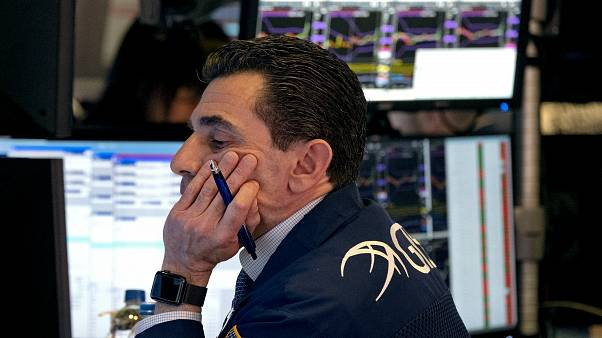 Bolsas europeias em queda