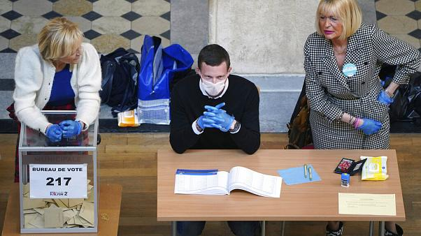 France Virus Outbreak elections