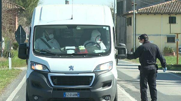 Число погибших в Италии перевалило за две тысячи