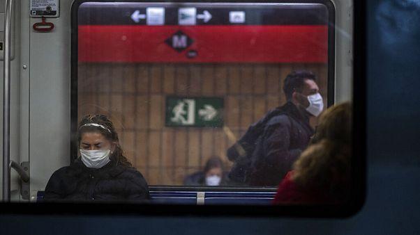 El metro de Barcelona este martes