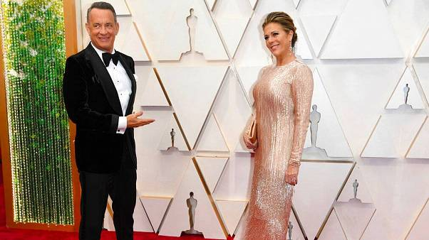 Tom Hanks ve eşi Rita Wilson