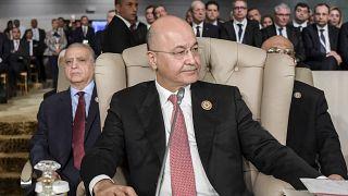 الرئيس العراقي برهم صالح خلال زيارته تونس - 2019/03/01