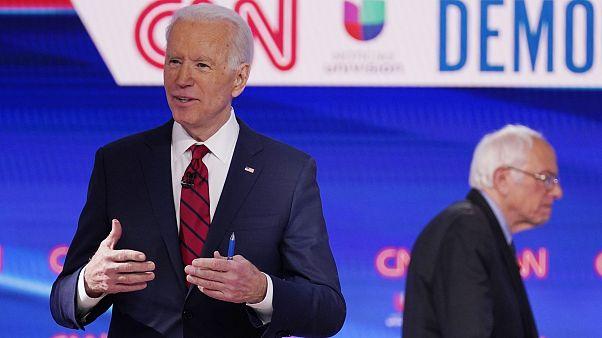 Joe Biden,Bernie Sanders