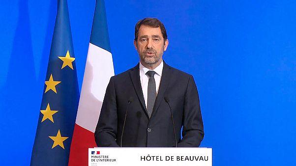 Le ministre français de l'Intérieur, Christophe Castaner, le 17 mars 2020.