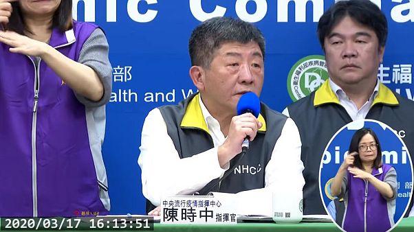Tayvan Sağlık Bakanı Chen Shih-Chung