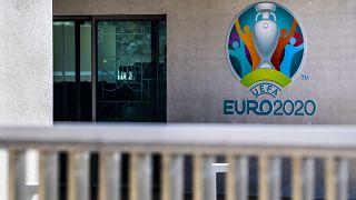 Switzerland Soccer Virus Outbreak UEFA Meeting