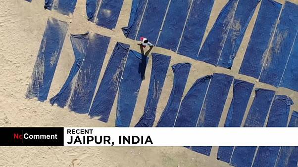 شاهد: تأثير صناعة النسيج الهندية على البيئة