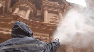 Ιορδανία: Απολύμανση αρχαία πόλη της Πέτρας