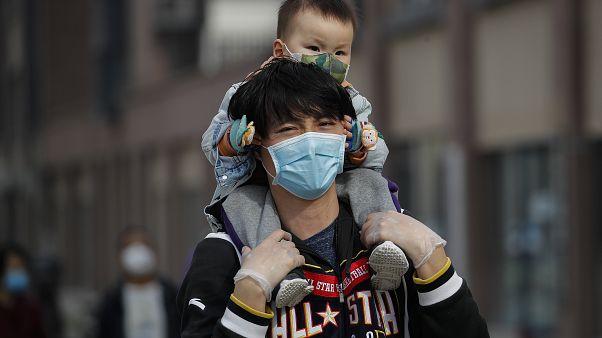 من شوارع بكين الأربعاء 18 آذار/مارس 2020