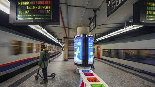 محطة القطارات المركزية ببروكسل