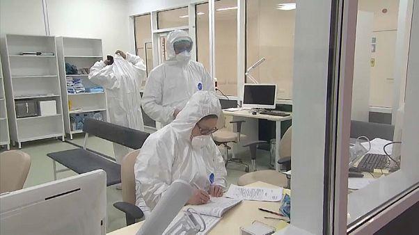 Инфекционная больница в Коммунарке.