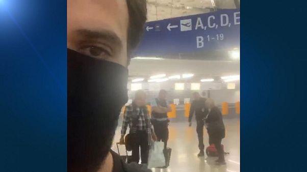 EU-Grenze dicht: Er muss am Frankfurter Flughafen direkt umkehren