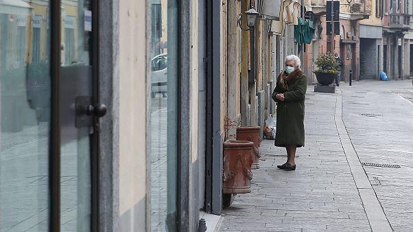 La localidad de Codogno, en Italia.
