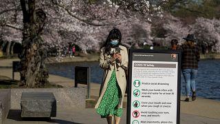 Virus Outbreak Washington Daily Life