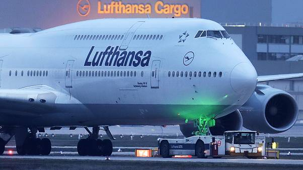 Germany Virus Outbreak Lufthansa
