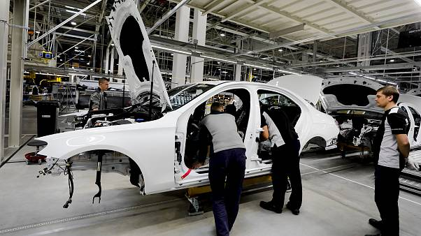 Moskova'da Mercedes-Benz'in otomobil fabrikası