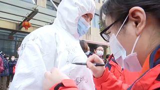 Vorsichtiger Optimismus: Keine Corona-Neuinfektionen in China