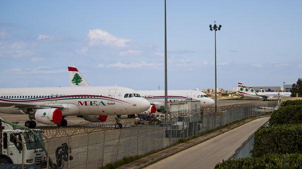 إغلاق مطار رفيق الحريري الدولي بسبب فيروس كورونا