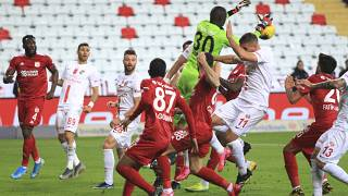 Top-level Turkish football has continued - albeit behind closed doors - despite the coronavirus outbreak