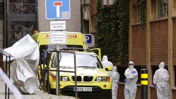 Virus Outbreak Spain