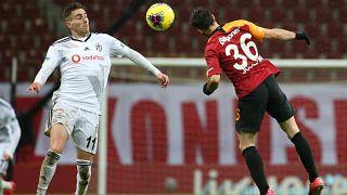 Süper Lig'in 26. haftasındaki derbide Galatasaray, Beşiktaş ile karşılaştı.