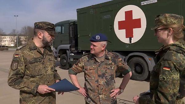 Bundeswehr: Covid-19-Amtshilfe, aber kein Aufmarsch