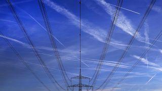 Stromleitungen in Hattersheim