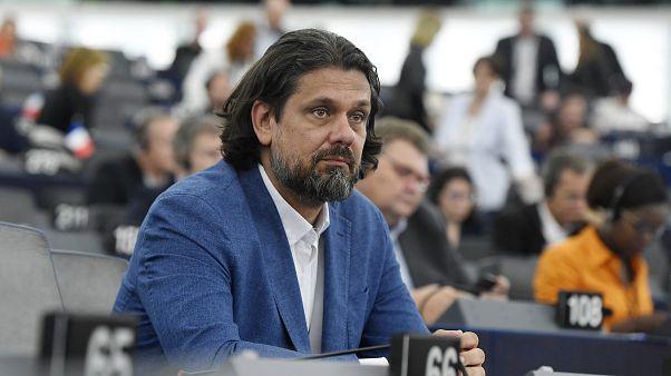 Deutsch Tamás, a FIDESZ-KDNP képviselője az Európai Parlament (EP) plenáris ülésén Strasbourgban 2019. július 16-án.