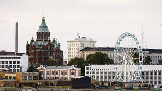 العاصمة الفنلندية هلسنكي