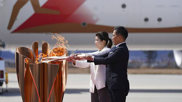 Olympics Tokyo 2020 Torch Arrival