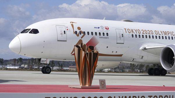 La llama de los Juegos Olímpicos de Tokio 2020 ha llegado a Japón